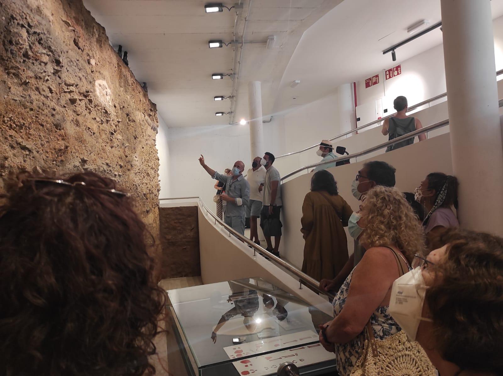Excepcional acogida de las Jornadas de Puertas Abiertas de la Cripta Arqueológica