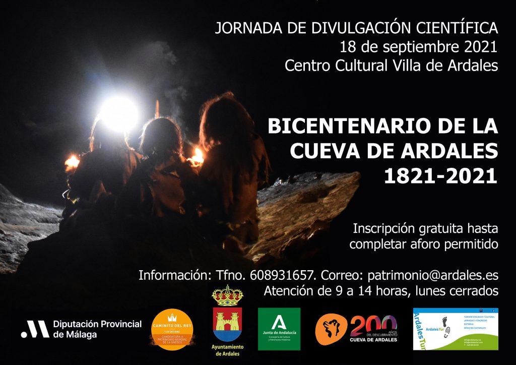Jornada del Bicentenario de la Cueva de Ardales (Málaga)