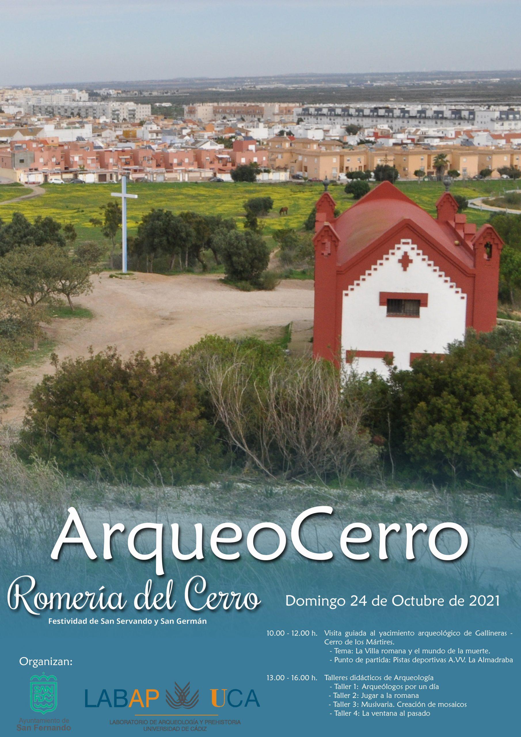 ARQUEOCERRO – Conocer y sentir el pasado romano de San Fernando